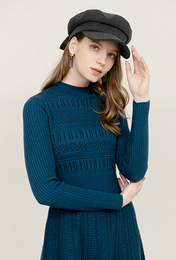 And Couture Web Limited KNIT ONE-PIECE