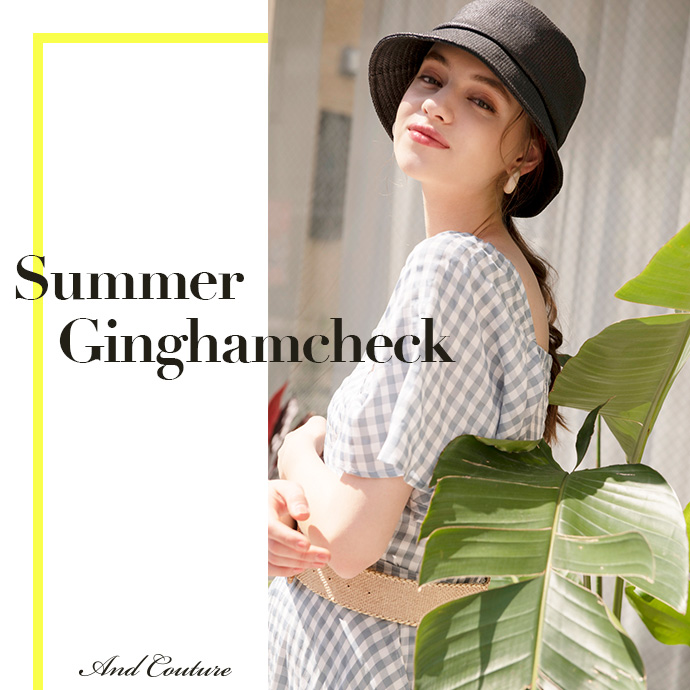 Summer Ginghamcheck