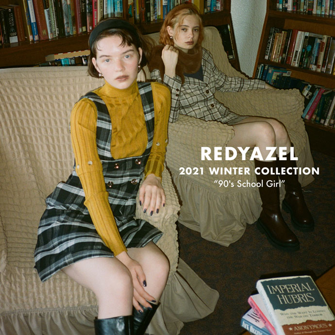 """2021 WINTER COLLECTION """"90's School Girl"""