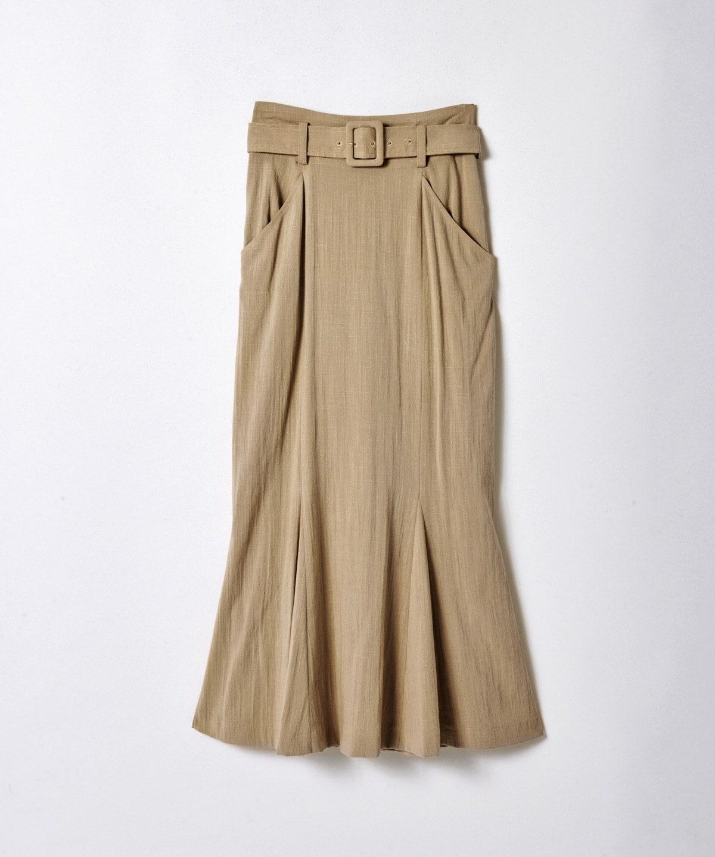 スラブストレッチマーメイドタイトスカート