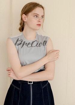 【PreciousロゴバックシアーTシャツ】