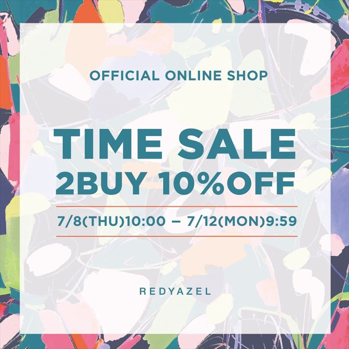 【TIME SALE 2BUY 10%OFF】
