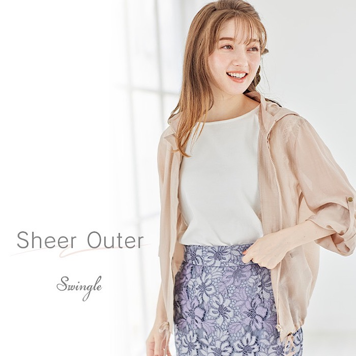 【Sheer Outer】