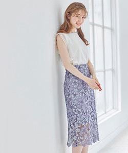 【グラデーションレースタイトスカート】