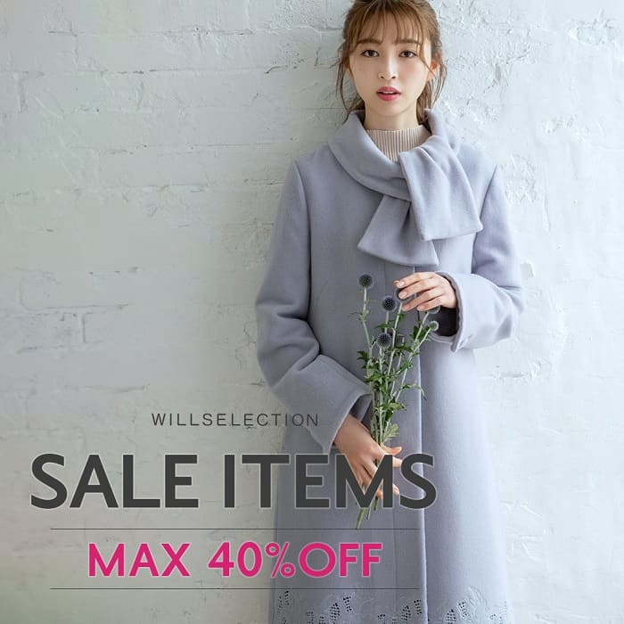 SALE ITEMS MAX40%OFF